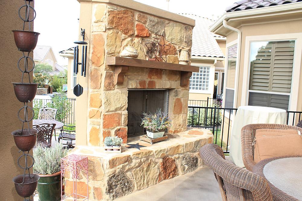 Texas Outdoor Kitchen Construction