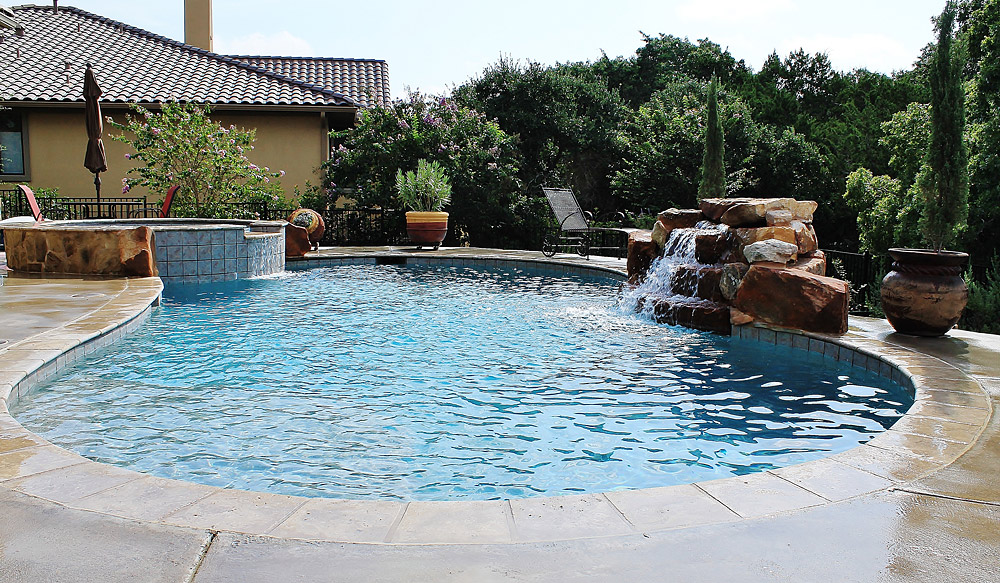 New Swimming Pool And Spa Combination Gallery Trinity Outdoor Living