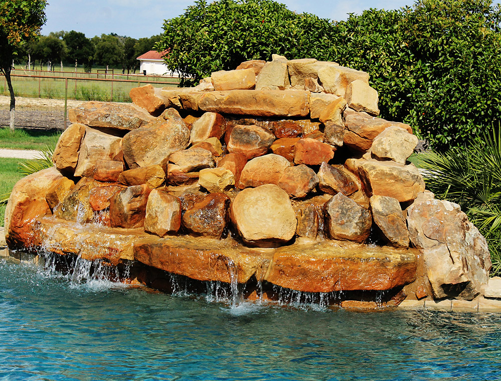 Water Features on Swimming Pools San Antonio